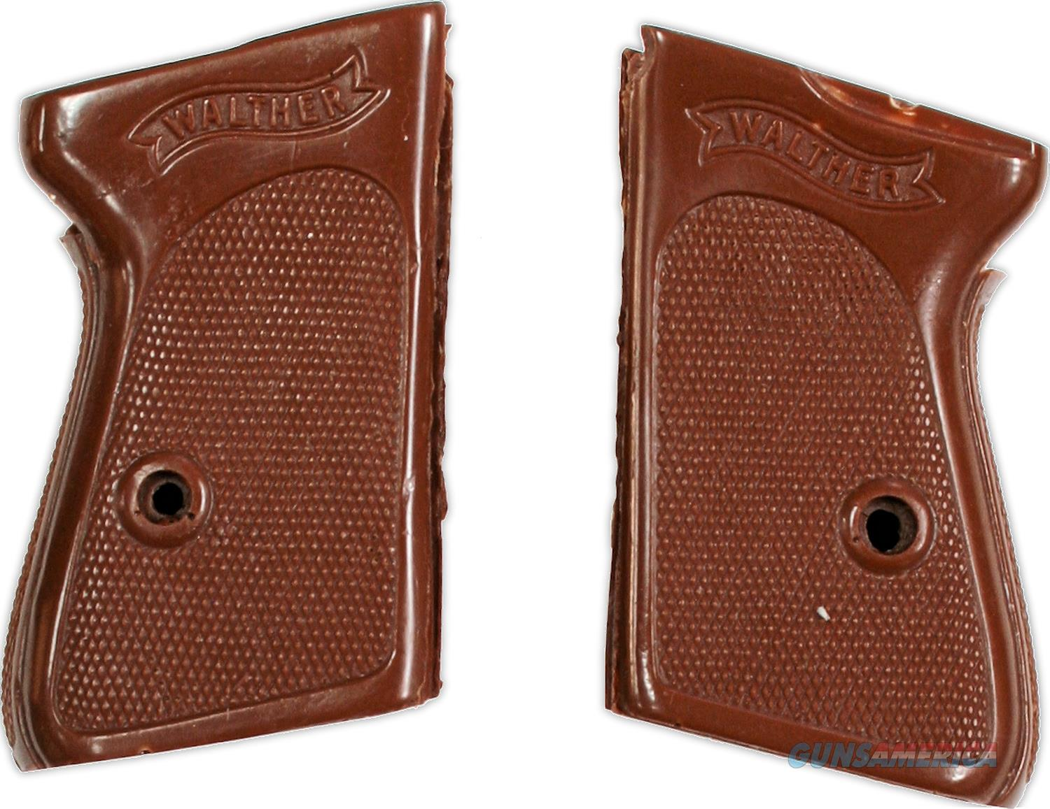Walther PPK Wrap Around Grips,  380 &  32, Brown