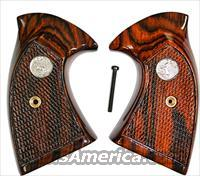Colt Detective Special 3rd Model Rosewood Checkered w/ Medallions
