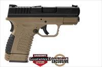 Springfield XDS 45ACP Pistol in FDE Finish