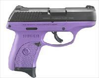 Ruger LC9S Talo Edition 9MM Pistol - Purple Frame