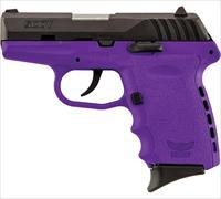 SCCY 9MM Pistol w/Purple Frame