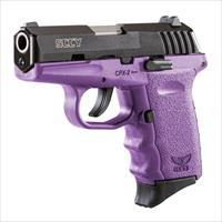 SCCY 9MM Pistol - Purple Frame