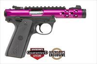 Ruger 22/45 Lite Mark IV 22LR Pistol - Purple Finish