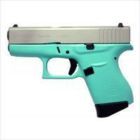 Glock 43 9MM Pistol - Robins Egg Blue