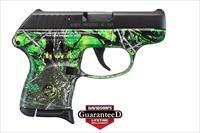 Ruger LCP 380ACP Psitol - Moon Shine Reduced Toxic Camo Grip Frame