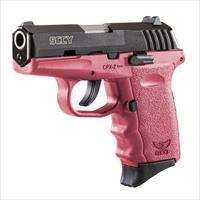 SCCY 9MM Pistol w/Crimson Red Frame
