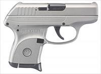 Ruger LCP 380ACP Pistol - Silver Cerakote