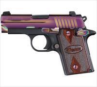 Sig Sauer P938 9MM in Rainbow Finish