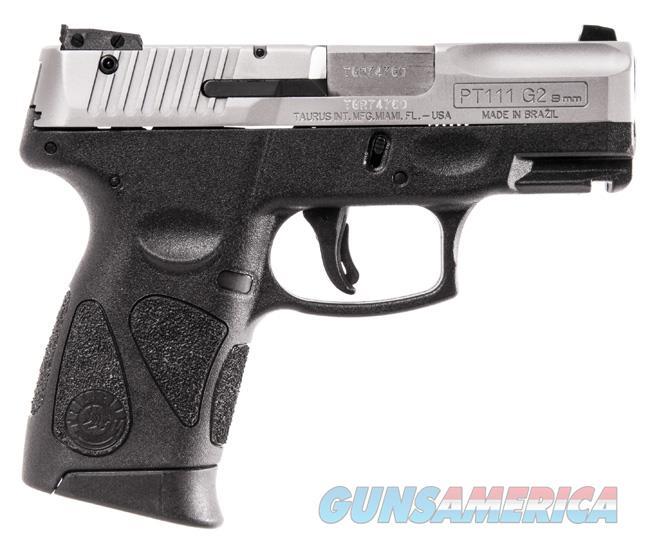 Taurus PT111 G2 9MM Pistol Stainless Slide