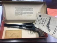 RUGER OLD ARMY .44 MUZZLE LOADER PISTOL