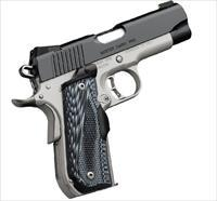 Beautiful! Kimber Master Carry Pro 45ACP Lasergrips & Night Sights - NIB