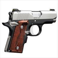 IN STOCK!  Kimber 1911 Micro 9 CDP (LG) (NS) 9mm Pistol 3300098
