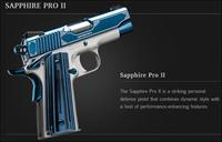 VERY LIMITED Beautiful Kimber Sapphire Pro II 9mm - Rare and Factory New