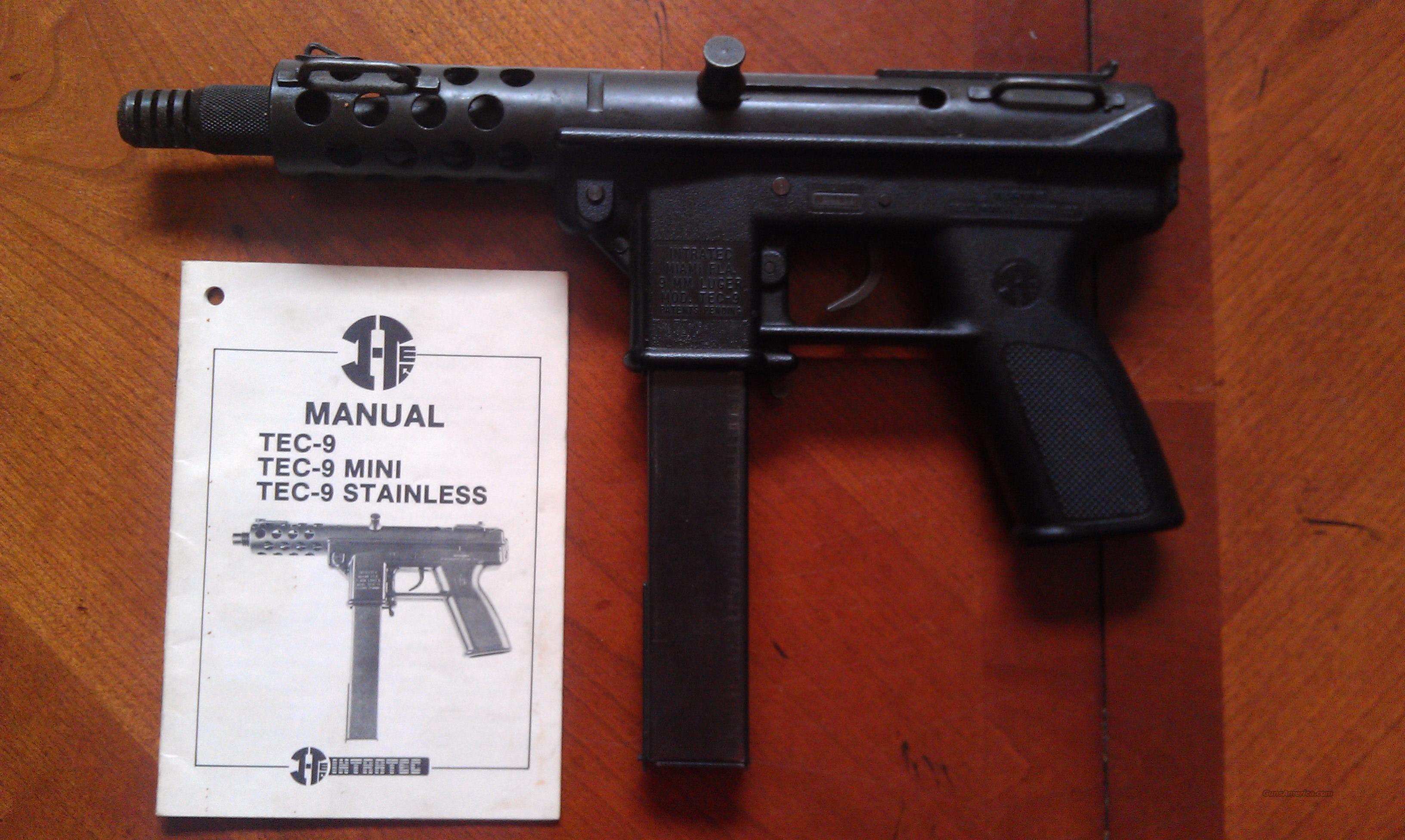 intratec tec 9 for sale rh gunsamerica com TEC-9 Barrel intratec tec-9 owner's manual