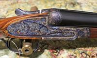 Ignacio Ugartechea Best Sidelock 12 gauge shotgun S/S – Excellent+ condition