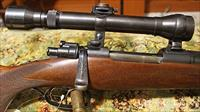 Joh. Springer custom bolt action 8x57 rifle