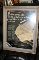 Friends of NRA print signed by Charlton Heston