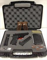BERSA THUNDER .380ACP FS KIT MATTE WALNUT GRIPS & CASE