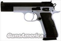 EAA WITNESS MATCH 9MM 18RD. FS 2-TONE BLACK SYN. GRIPS