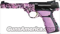 "Browning Buck Mark Buckthorn Pink 22LR 5.5"" 10+1 Ultragrip FX Grips"