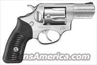"RUGER SP101 .357MAG 2.25"" FS STAINLESS STEEL RUBBER GRIPS"