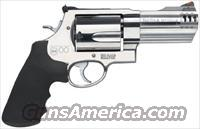 "S&W 500 .500SW 4"" AS 5-SHOT STAINLESS STEEL"