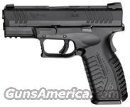 "SPRINGFIELD XDM 9MM LUGER 3.8"" FS 19-SHOT BLACK/BLACK W/GEAR"