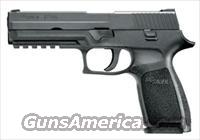 SIG P250 9MM FULL SIZE. 2 17RD mags