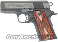 "COLT NEW AGENT .45ACP 3"" FIXED 7-SH CONCEAL CARRY BLACK WOOD"