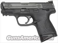 "S&W M&P9C COMPACT 9MM 3.5"" FS W/SAFETY BLACKENED SS/BLK POLY"