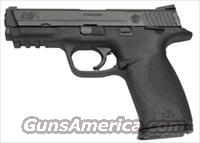"S&W M&P9 9MM 4.25"" FS W/SAFETY BLACKENED SS/BLK POLY"