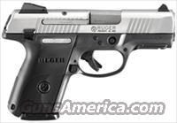 RUGER SR9C COMPACT 9MM LUGER 17-SHOT AS S/S SLIDE BLK FRAME
