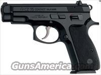 "CZ-75 Compact 9mm 3.9"" 15+1 Black Synthetic Grip Black Finish"