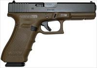 GLOCK G22 G4 FLAT DARK EARTH 40 SW