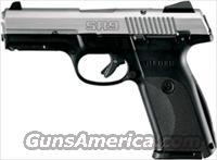 RUGER SR9 9MM LUGER AS 17-SHOT S/S SLIDE BLACK SYN FRAME