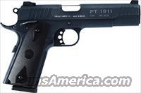 "TAURUS 1911 .45ACP 5"" FS 8-SH BLUED CHECKERED"