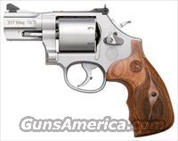 "S&W 686 PERFORMANCE CENTER .357 MAGNUM 6-SH 2.5"" SS WOOD"