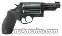 "TAURUS JUDGE .45/.410-2.5"" 3"" FS 5-SHOT BLUED RUBBER"