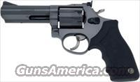 "TAURUS 66 .357 4"" AS 7-SHOT BLUED RUBBER"