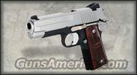 SIG 1911 COMPACT 45ACP C3 ALLOY DUO TONE 2 7RD