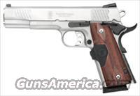"S&W 1911CT ES .45ACP 5"" FS 8SH STAINLESS CRIMSON TRACE GRIPS"
