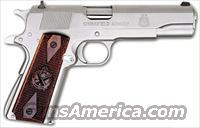 "SPRINGFIELD 1911 .45ACP MIL-SPEC 5"" FS 7-SHOT SS, two sets of grips"