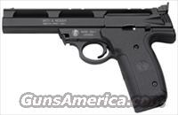 "S&W 22A .22LR 5.5"" AS 10-SHOT BLUED/BLACK ALLOY POLYMER"
