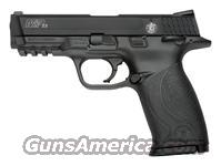 "S&W M&P22 22LR 4.1"" AS 12-SHOT W/SAFETY MATTE BLACK"