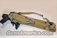 Acid Tactical® Camouflage Multi Cam Tactical MOLLE Shotgun Scabbard