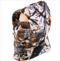 Acid Tactical® Cold Weather Balaclava Hood CamouflageFull Face Mask Hunting Woodland Camo Color