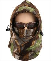 Acid Tactical® Cold Weather Balaclava Hood CamouflageFull Face Mask Hunting  Camo Color