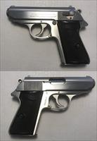 Walther/Interarms Model PPK/S Stainless .380