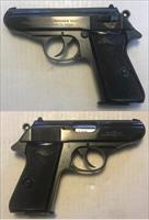 German Walther PPK/S 7.65mm (.32acp) Mfg. 1969 C&R