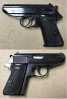 German Walther PPK/S 9mmK (.380acp) Mfg. 1969 C&R